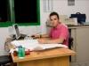 Crosato Impianti - Matteo nel suo ufficio tecnico