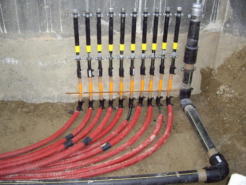 EDIFICIO COMMERCIALE/ RESIDENZIALE - Particolare impianti Gas