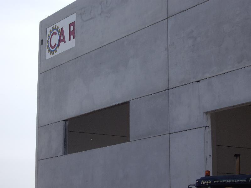 OFFICINE CAR - Vista capannone